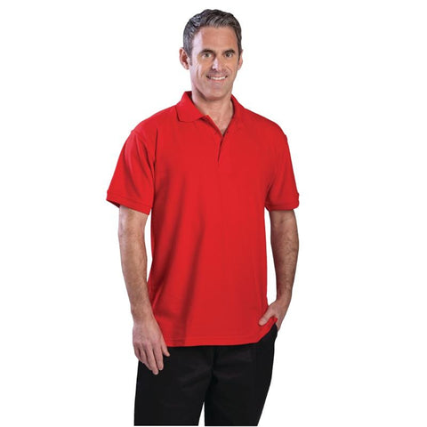 Unisex Polo Shirt Red S