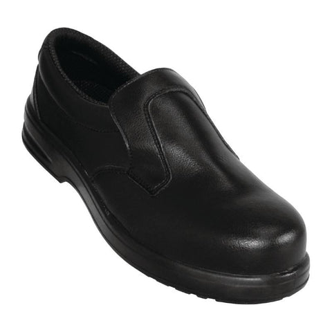 Lites Safety Slip On Black 40