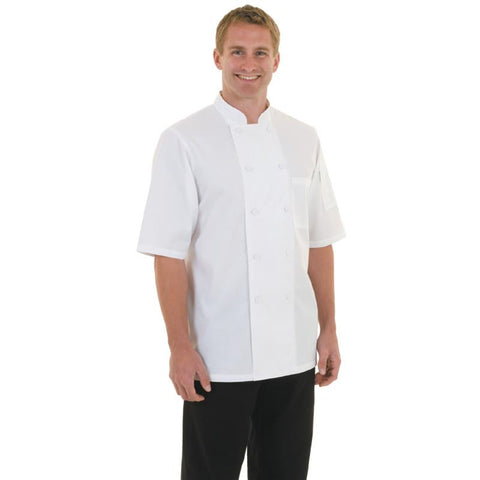 Chef Works Montreal Cool Vent Unisex Chefs Jacket White L