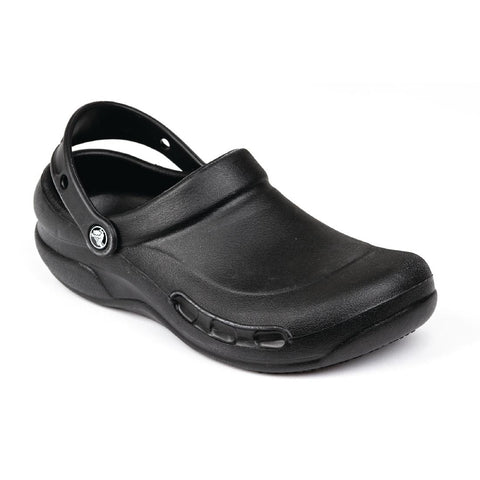 Crocs Black Bistro Clogs 45.5