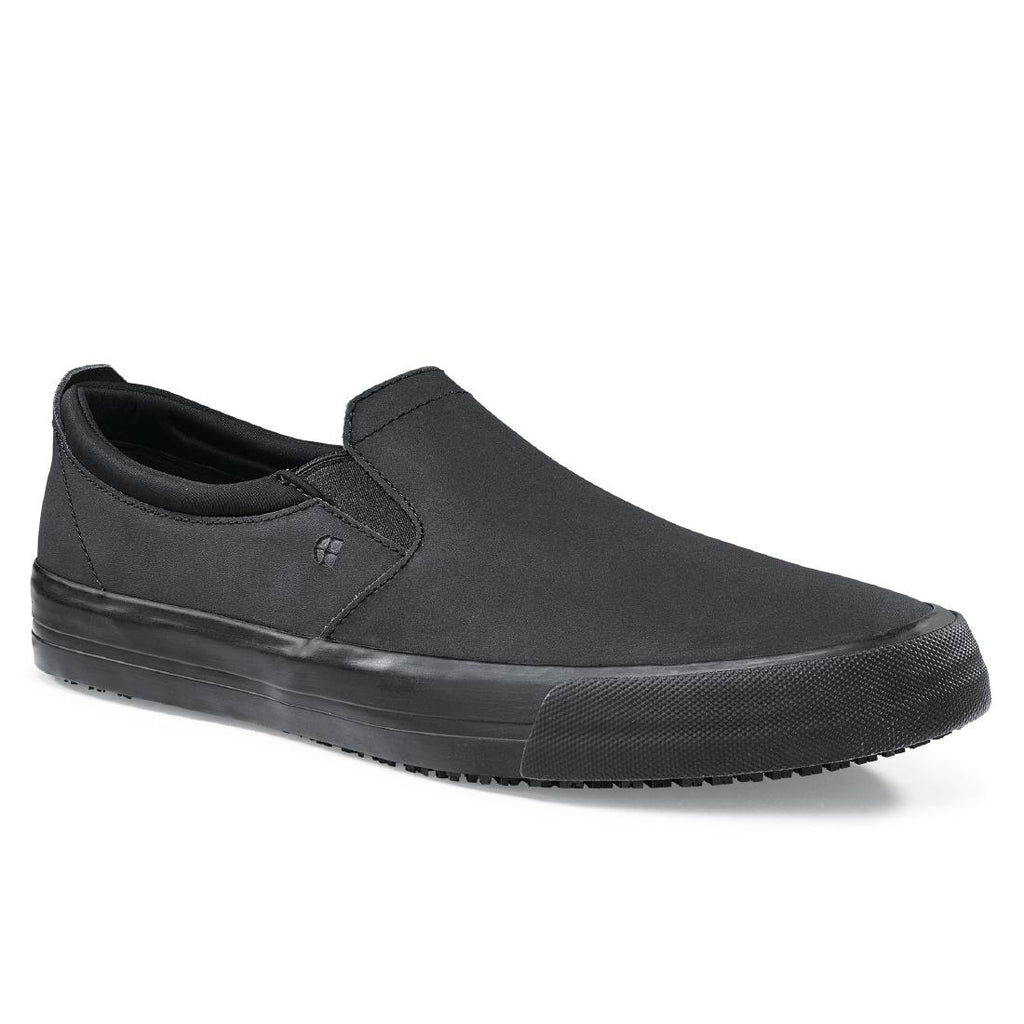 Shoes for Crews Mens Leather Slip On Size 43