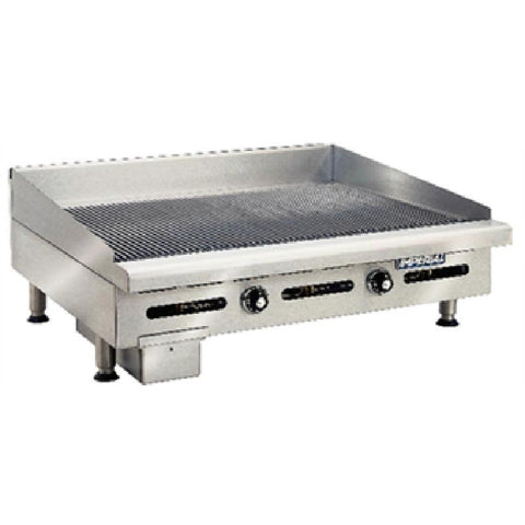 Imperial Thermostatic Ribbed Propane Gas Griddle IGG-36