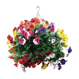 22 inch Mixed Colours Pansy Ball