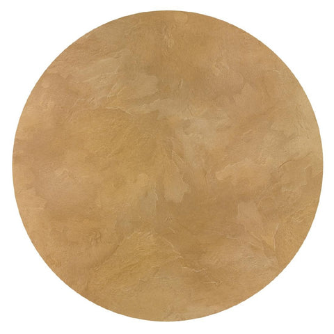 Werzalit Pre-drilled Round Table Top  Sandstone 800mm