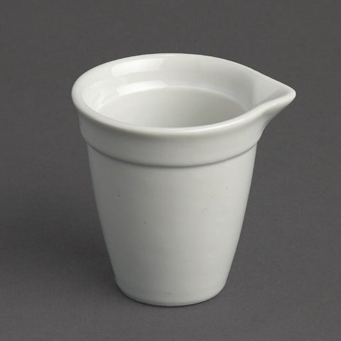 Olympia Bistro Milk Jug White 42ml