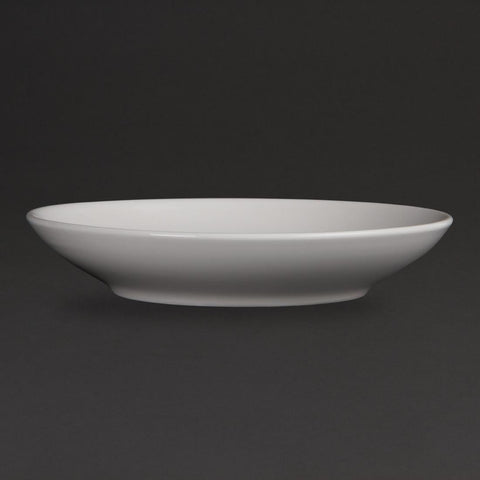 Olympia Whiteware Deep Plates 260mm