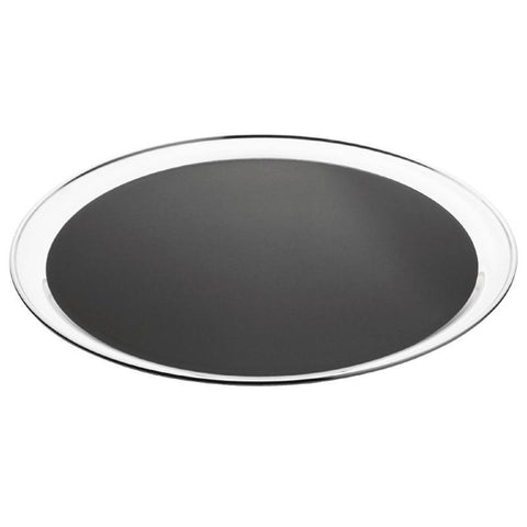 Olympia Stainless Steel Round Non-Slip Bar Tray 355mm
