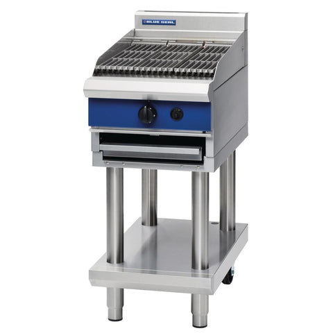Blue Seal Evolution Chargrill on Stand Natural Gas G59 3