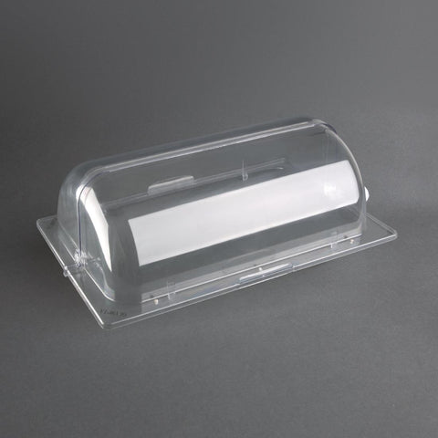 Olympia Polycarbonate Rolltop Cover GN 1/1