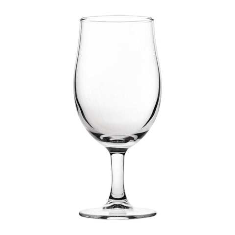 Utopia Nucleated Toughened Draught Beer Glasses 280ml CE Marked (Pack of 12)