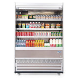 Williams Gem 1510mm Slimline Multideck White with Security Shutter R150-WCS