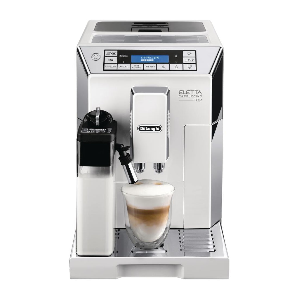 DeLonghi Eletta Bean to Cup Coffee Maker ECAM45.760.W