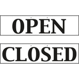 Reversible Hanging Open And Closed Sign