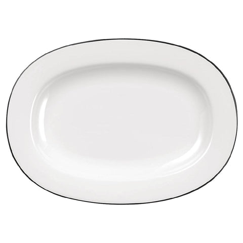 Churchill Alchemy Mono Oval Dishes 330mm
