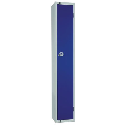 Elite Single Door Manual Combination Locker Locker Blue