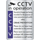 CCTV In Operation Crime Prevention Sign