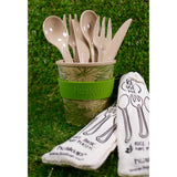 Reusable Rice Husk Cutlery Set
