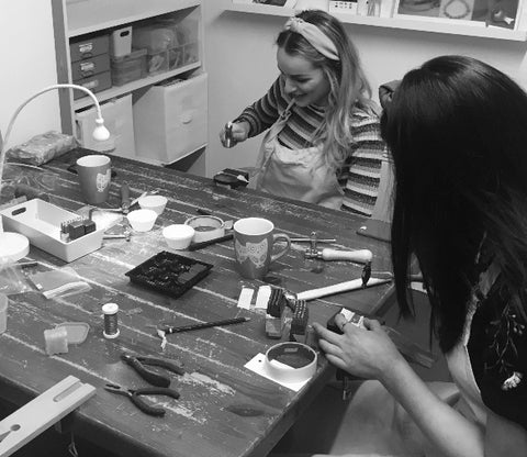 7. 5 Week Monday mornings Workshop Course : Introduction to Jewellery  10am - 12.30 16th September - 14th October