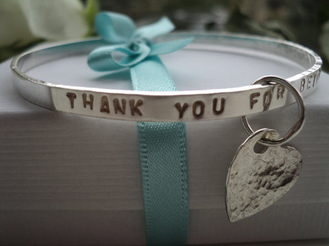 5.  Personalised Bangle  Workshop 10 12.30/ 1.30- 3pm