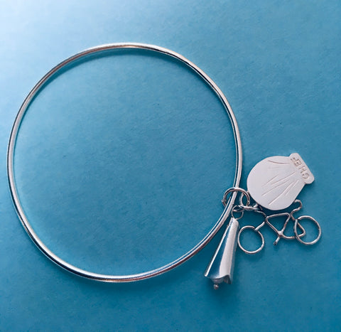 Commission Personalised Bangle & Charms