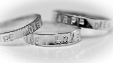 2. Tuesday 11th February 2020  Evening Workshop - Personalised Ring / Pendant  7 - 9.pm