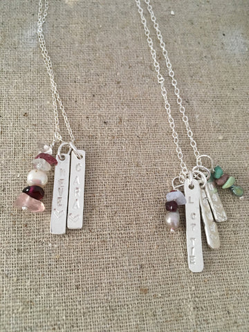 4. Two Tuesday Evenings Workshop 7pm -9pm,  18th & 25th June. Personalised Jewellery