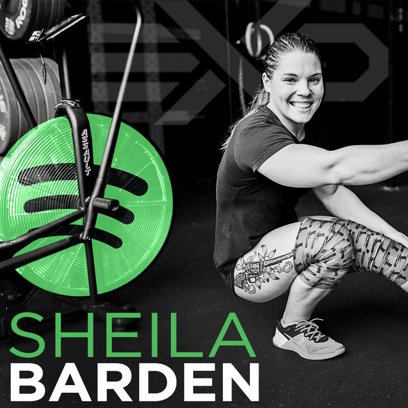 Sheila Barden's 2017 CrossFit Open Spotify Playlist