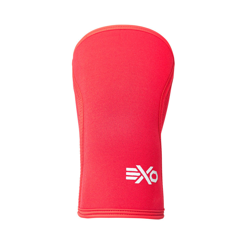 SOLID RED - 5MM KNEE SLEEVES