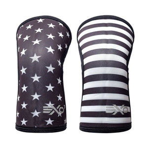 5MM Knee Sleeves - Stars & Stripes/Camo