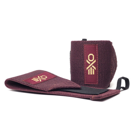 COTTON WRIST WRAPS - MAROON