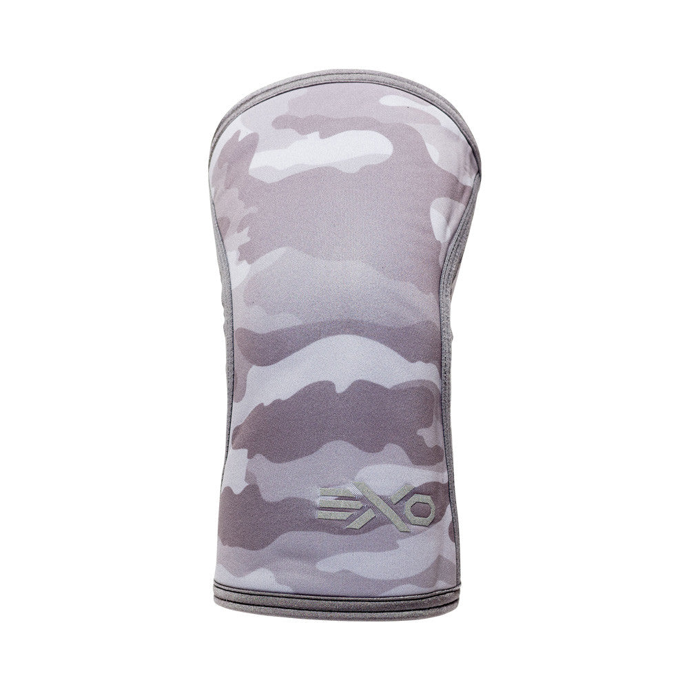 5MM Knee Sleeves - CAMO GREY