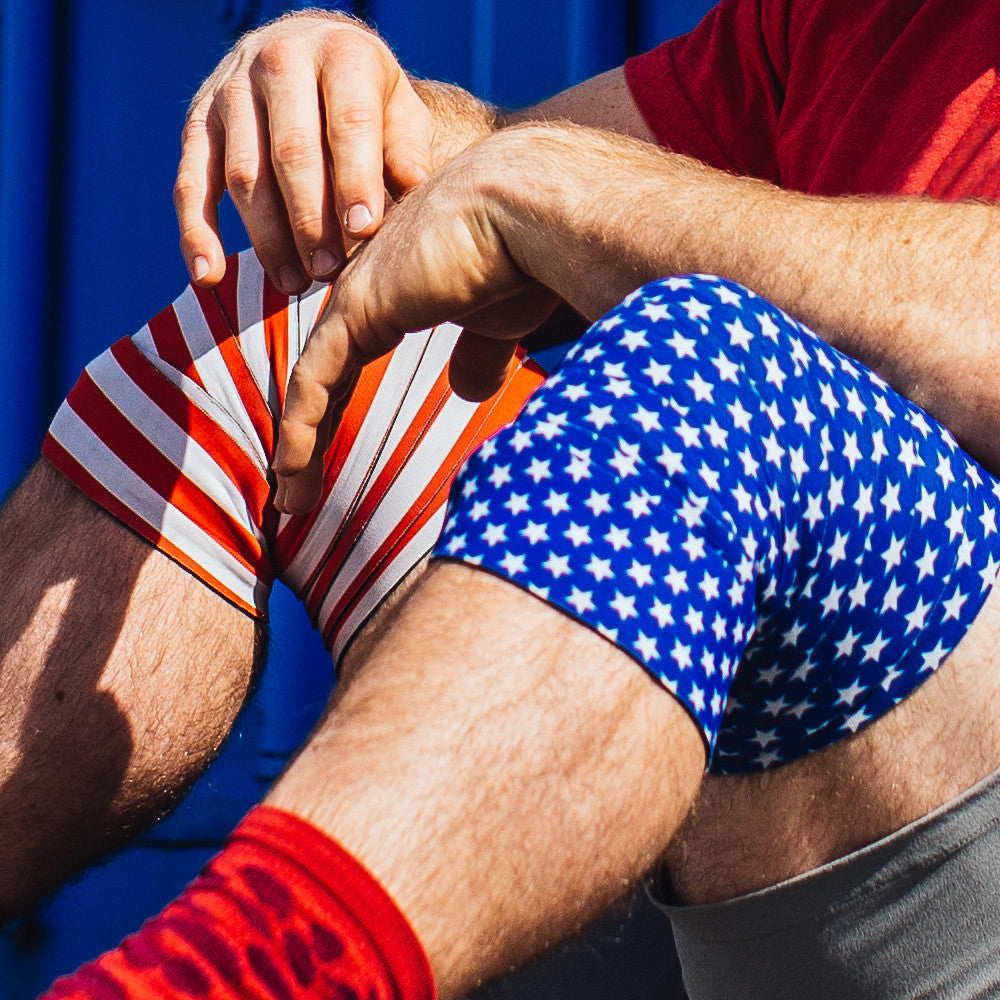 Noah Ohlsen Stars & Stripes Knee Wraps