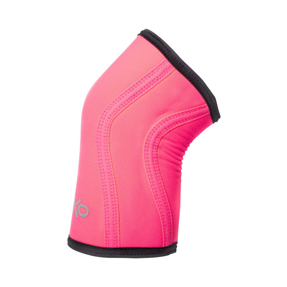 7MM Knee Sleeves - NEON PINK