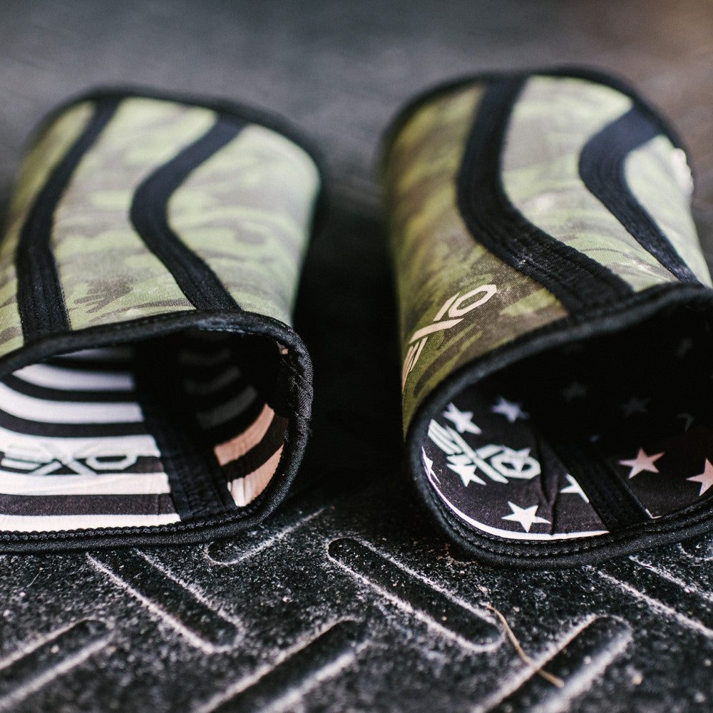 5MM Knee Sleeves - Noah Ohlsen Stars & Stripes/Camo