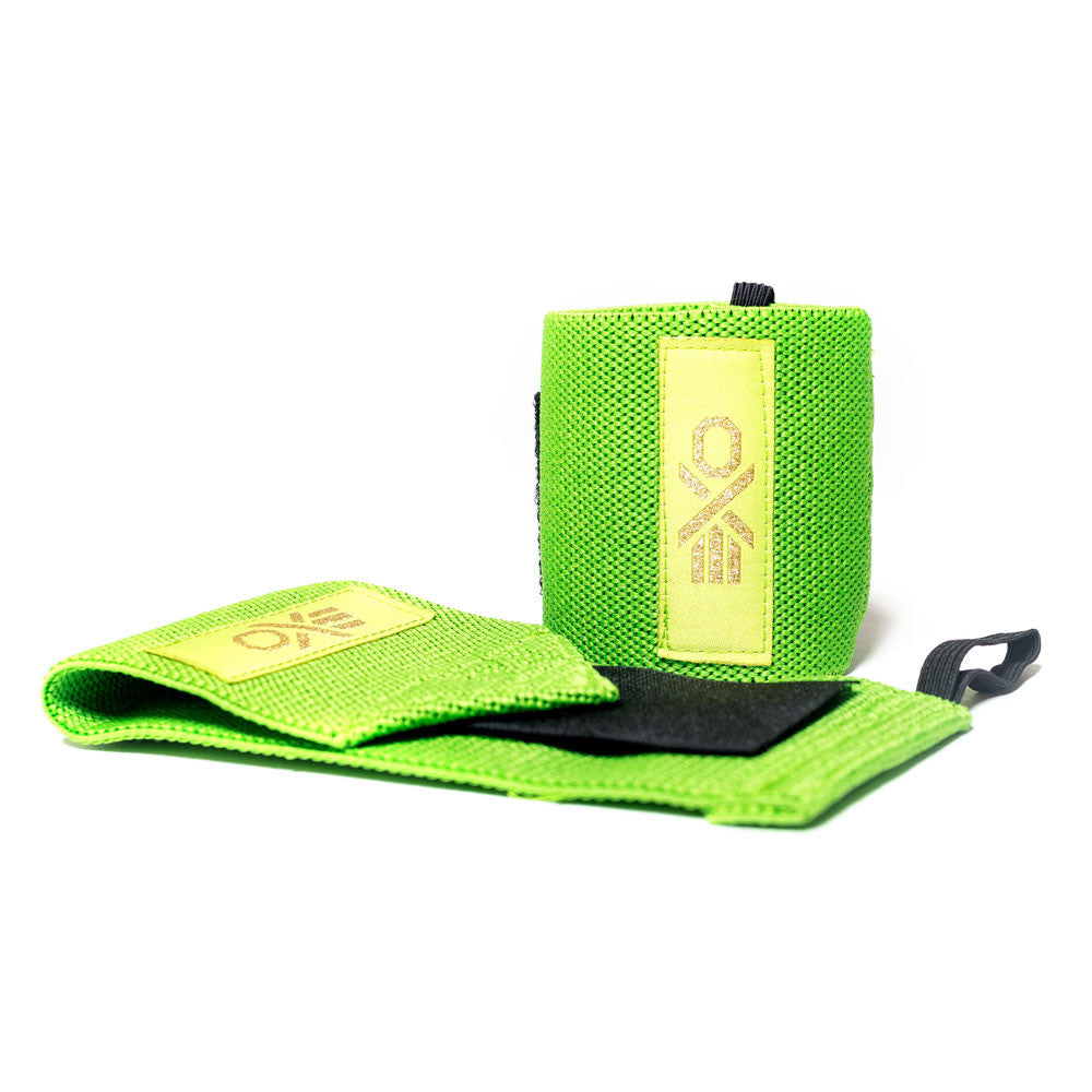 Cotton Wrist Wraps - GRASS GREEN
