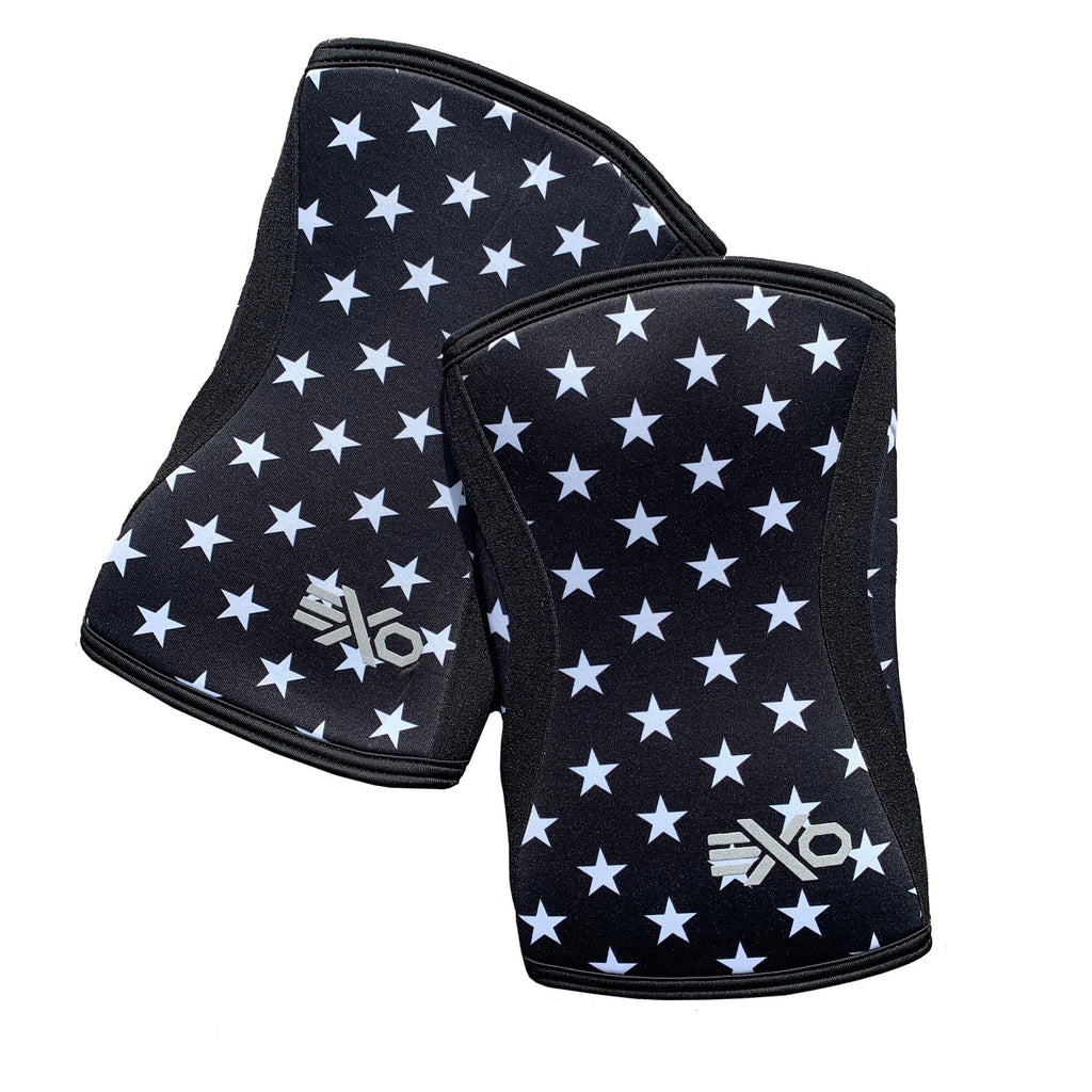5mm Knee Sleeves - STARS