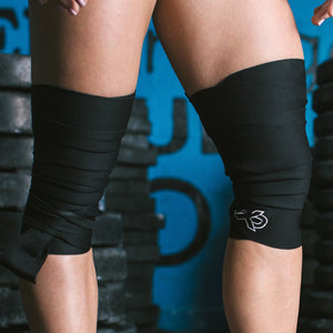 Black Knee Wraps