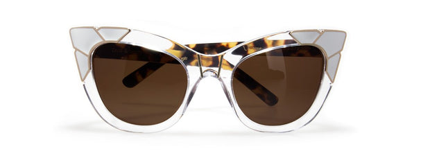 Puss & Boots Sunglasses - Clear/ Tortoise