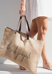 Jute Tote Bag - Original
