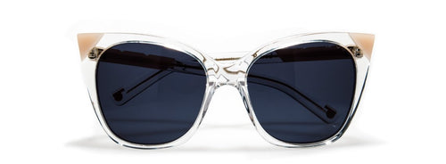Cat & Mouse Sunglasses - Blush/ Clear