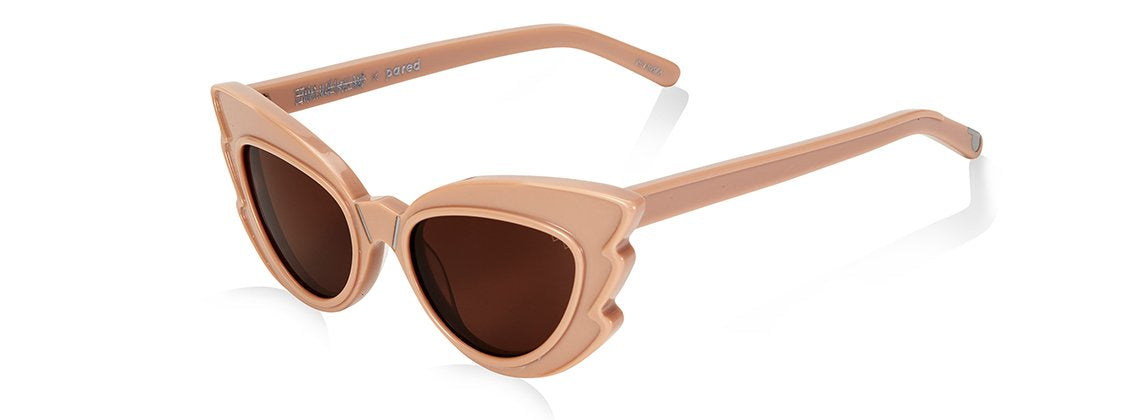 Emma MulhullAnd x Pared Stargazers Sunglasses - Fawn