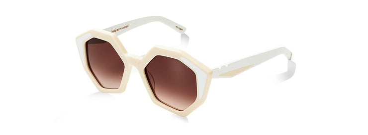 Sole & Mare Sunglasses - Ivory/White Inlay