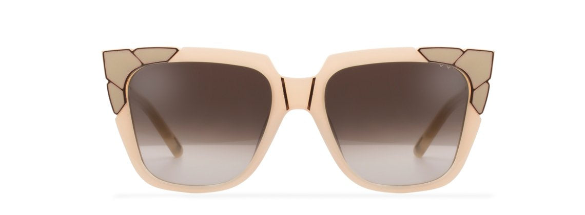 Charlie & The Angels Sunglasses - Shell Rose Gold