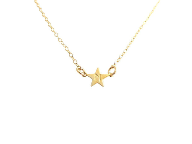 Stella Mini Star Necklace - Gold Filled