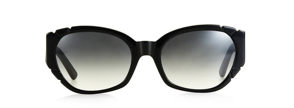 Diamonds and Pearls Sunglasses - Black