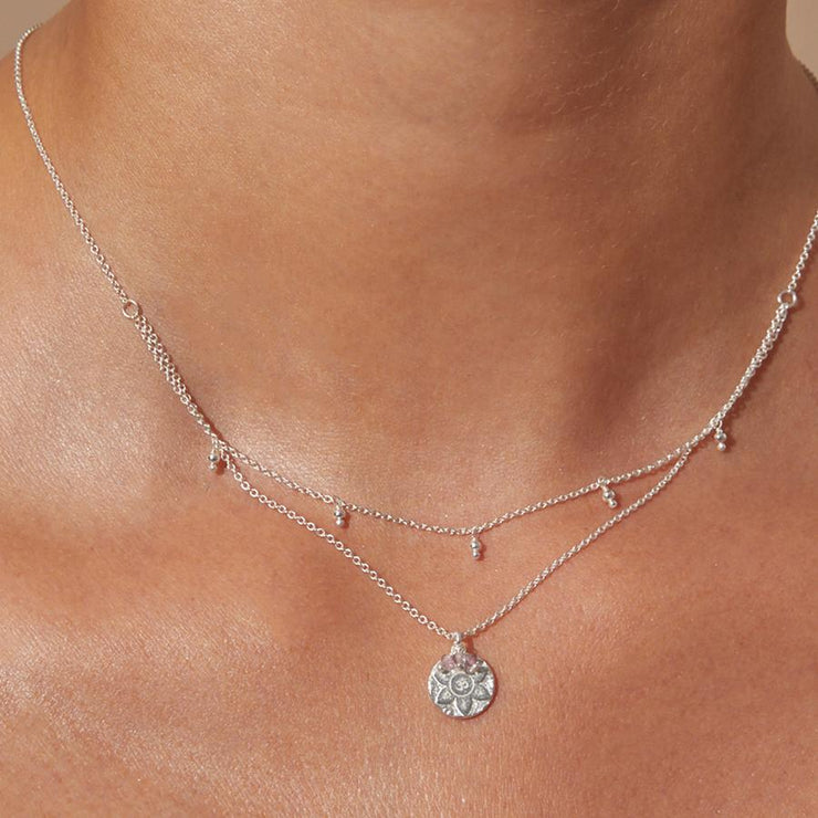 Silver Eternal Harmony Necklace