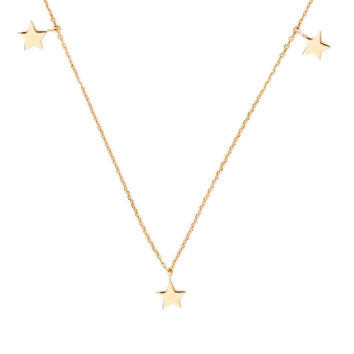 Gold Star Bright Necklace