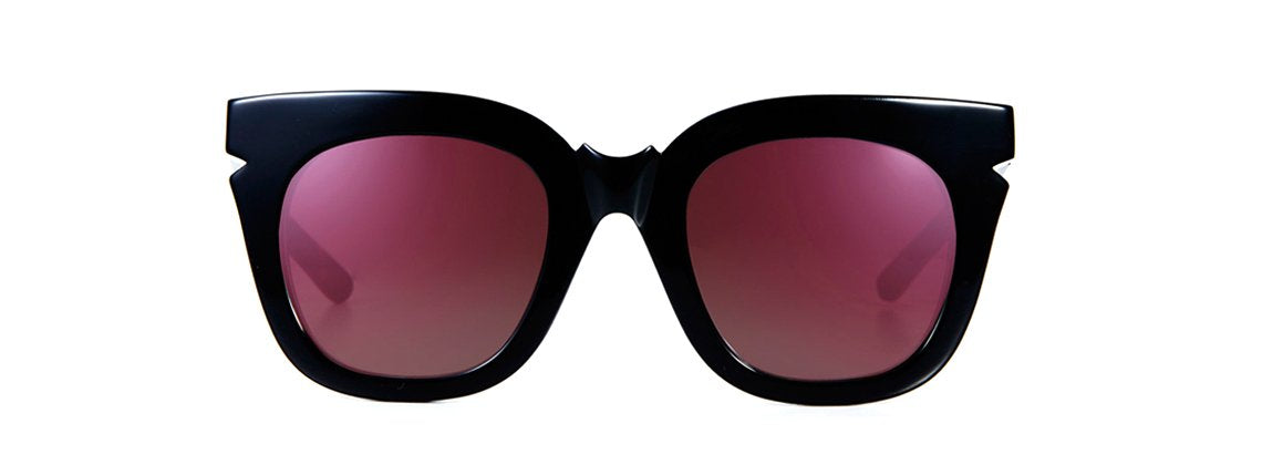 Pools & Palms Sunglasses - Black/ Black Titanium