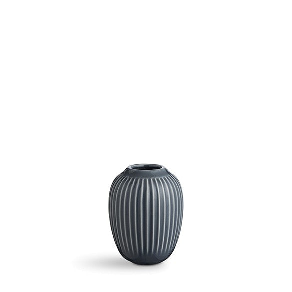 KÄHLER HAMMERSHØI VASE MINI ANTHRACITE - Tablo.no