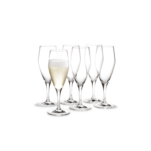 Holmegaard Perfection Champagneglass 6 stk.